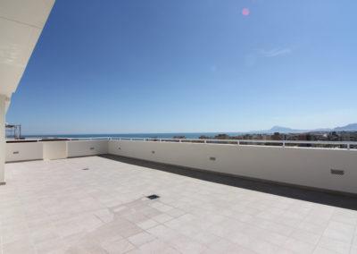 Vistas espectaculares de la playa de Piles