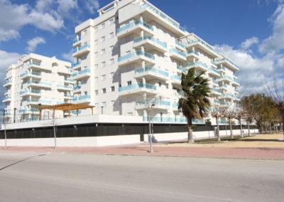 VistaImagen exteriores Apartamentos Blaumar playa de Piles exteriores del Residencial Blaumar en Playa de Piles