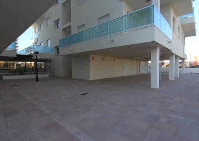 plazas de parking en playa de Piles