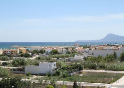 Vistas desde Residencial Tramontana en Playa de Oliva