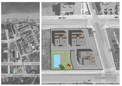 esquema urbanización residencial xaloc