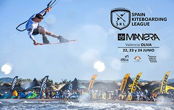 La Spain Kiteboarding League 2018 en Oliva en Junio