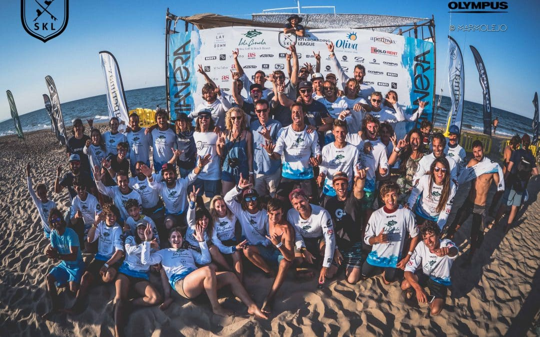 La Spain Kiteboarding League vuelve a dar espectáculo en Oliva