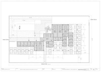 planos de planta de apartamentos Albornes