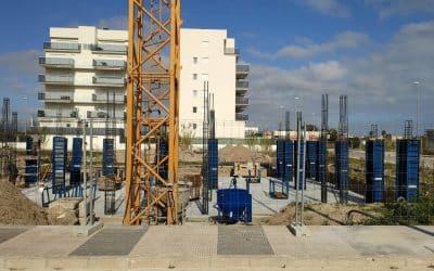Apartamentos Albornés inicio de obras