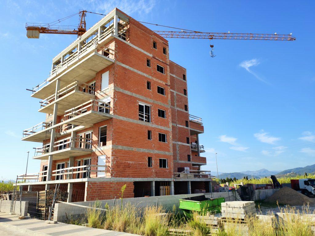 Apartamentos Albornes agosto 2020, ya queda menos